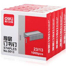 Standard silver Point <b>Staples Deli</b> 1000pcs/pack Office Metal Hot Sal ...