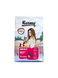 <b>Karmy Adult Сухой корм</b> для кошек, Телятина (400гр) / Кошки ...