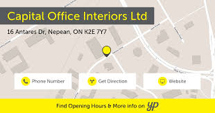 capital office interiors ltd opening hours 16 antares dr nepean on capital office interiors