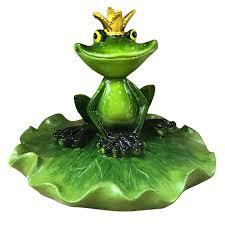 <b>Фигура садовая Царевна</b>-<b>лягушка</b> 15х13х10,5 см купить недорого ...