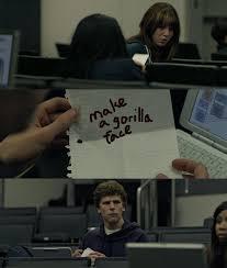 Zuckerberg Note Pass | Know Your Meme via Relatably.com