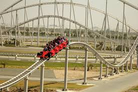 Image result for Take a ride on the fastest roller coaster in the world Dubai