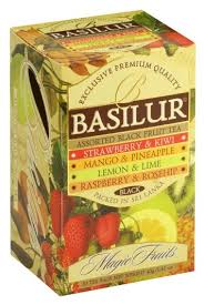 <b>Чай</b> черный <b>Basilur</b> Magic fruits <b>Assorted</b> black fruit <b>tea ассорти</b> в ...