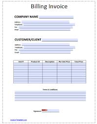 invoice template printable sanusmentis blank invoice templates in pdf word excel template printable bi invoice template printable template full