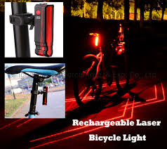 China USB Rechargeable LED <b>Bicycle</b> Taillight <b>Bike Laser</b> Rear ...