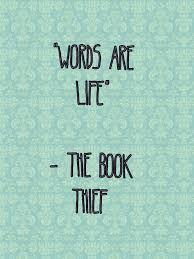 the book thief quote the book thief big words the book thief quote