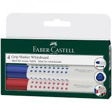 <b>Faber</b>-<b>Castell Набор</b> маркеров для белых досок Grip 1583 2.0 мм ...