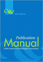 Apa Format Book Citation  th Edition   Cover Letter Templates
