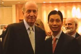 El Juan Carlos y Gao Ping