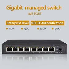 <b>Reverse PoE switch 16x10M/100M</b> PoE & 4SFP Port Gigabit ...