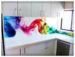 bird printed image glass kitchen splashback elegant digital printed glass splashbacks elegant digital printed glas