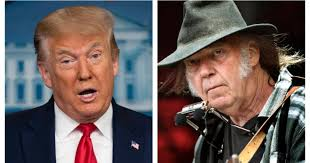 'Not OK': <b>Neil Young</b> speaks out after Trump uses <b>songs</b> at Mount ...