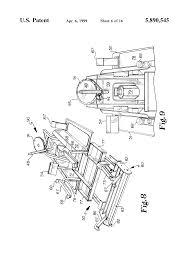 patent us5890545 electric drive bunker rake google patents patent drawing