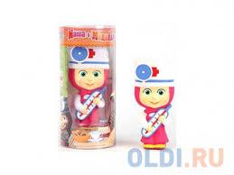 <b>Пластмассовая игрушка Маша и</b> Медведь Маша-доктор 14 см GT ...