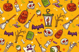 <b>Halloween Pattern</b> Images | Free Vectors, Stock Photos & PSD