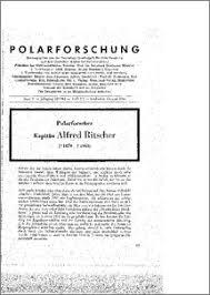 Polarforscher Kapitän Alfred Ritscher - ePIC - Polarforsch1962_1-2_1