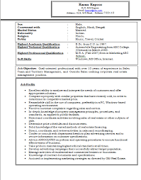 over 10000 cv and resume samples experienced experienced mba marketing resume sample doc