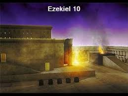 Image result for the glory of the lord departed from the temple