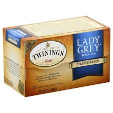 Twinings Black <b>Tea</b>, <b>Lady Grey</b>, Decaffeinated, <b>Tea</b> Bags