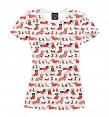 Футболки с <b>Таксой</b> - Заказать футболку/майку с принтом можно ...