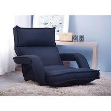 Merax <b>Adjustable Fabric Folding Chaise</b> Lounge Sofa Chair Floor ...
