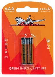 <b>Батарейка AAA</b> LR03 (<b>AIRLINE</b>) (2шт) <b>AAA</b>-02 / Аксессуары ...
