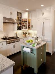 kitchen island hidden outlets means what is much clever than this awesome small green island on wheels it