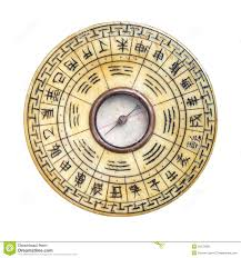 feng shui compass isolated chinese feng shui compass