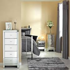 glass bedroom furniture rectangle shape wooden cabinets:  bedroom black mirrored furniture brown white colors covered bedding sheets pillows rectangle shape high wooden wardrobe