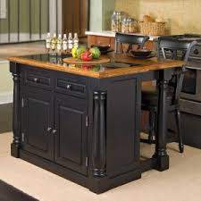 kitchen island granite top sun: quick view home styles monarch slide out leg kitchen island with granite top