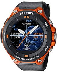 Amazon.com: Casio Men's 'PRO TREK' Quartz Resin Outdoor ...