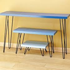 hardware dining table exclusive: i semblea hairpin table legs    i semblea hairpin table legs