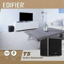 Edifier Россия - <b>Сабвуфер Edifier T5</b> Активный сабвуфер ...
