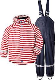 Didriksons Slaskeman <b>Kids Waterproof Jacket</b> and Trousers Set ...