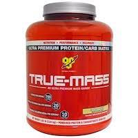 BSN, <b>True</b>-<b>Mass</b>, <b>Ultra Premium Protein/Carb</b> Matrix, Cookies ...
