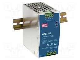 NDR-240-24 MEAN WELL - <b>Блок питания</b>: импульсный   <b>тонкий</b> ...