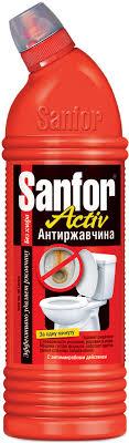"""<b>Средство</b> для чистки и дезинфекции <b>Sanfor Activ</b> """"Антиржавчина ..."""