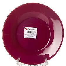 <b>Тарелка</b> закусочная (десертная) <b>Pasabahce Purple</b> City, D=19,5 см