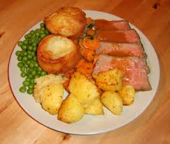 american football this british american life sunday lunch at nan s as usual roastbeef yorkshire puddings von hotbabyhot in
