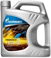 <b>Моторное масло</b> Gazpromneft <b>Premium</b> N 5W-40 4 л (2389900144)