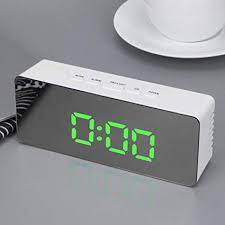 Looka33 <b>Clocks</b> Home Wall Fancy Digital Multi Functional <b>LED</b> ...