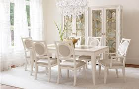Legacy Dining Room Furniture Legacy Classic Tower Suite 9 Piece Rectangular Dining Set In Pearl Finishjpg