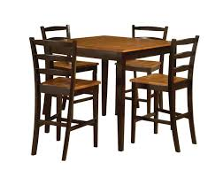 wicker bar height dining table: bar height table and chairs ideas for outdoor