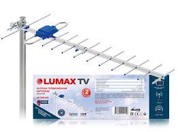 Купить <b>антенна</b> телевизионная <b>наружная lumax da2215a</b> ...