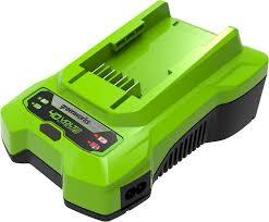 2932507 <b>Зарядное устройство</b> G40C <b>Greenworks</b> в интернет ...