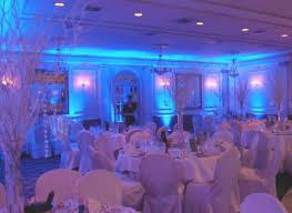 wedding uplighting blue blue wedding uplighting