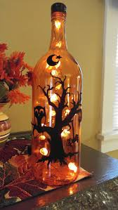 tree glass jar home