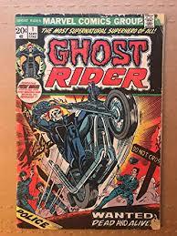 <b>Ghost Rider</b> 1973#1 first <b>printing</b> original Marvel comic book at ...