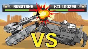 """<b>Tank Tournament</b> Robotank VS Killdozer"" Cartoons about <b>tanks</b> ..."