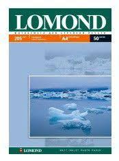 Купить <b>Фотобумага Lomond</b> 0102085 <b>A4</b>/205г/м2/50л./белый ...